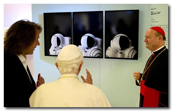 Matthias Schaller, Pope Benedict XVI, S.E Cardinal Ravasi