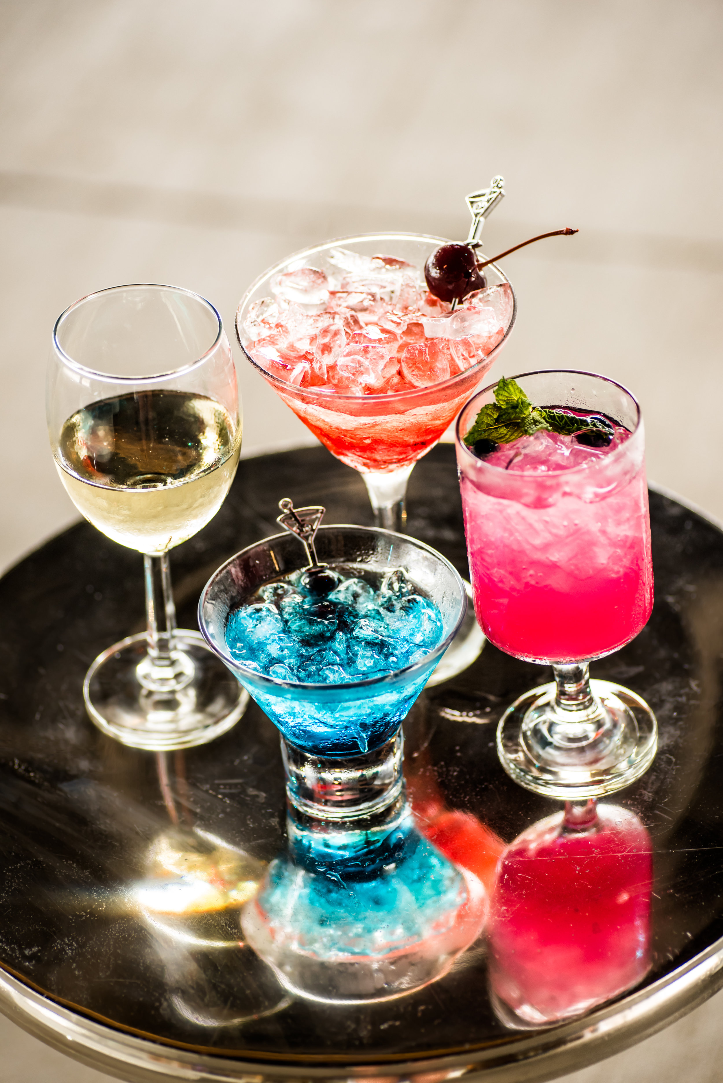 Neon Cocktails