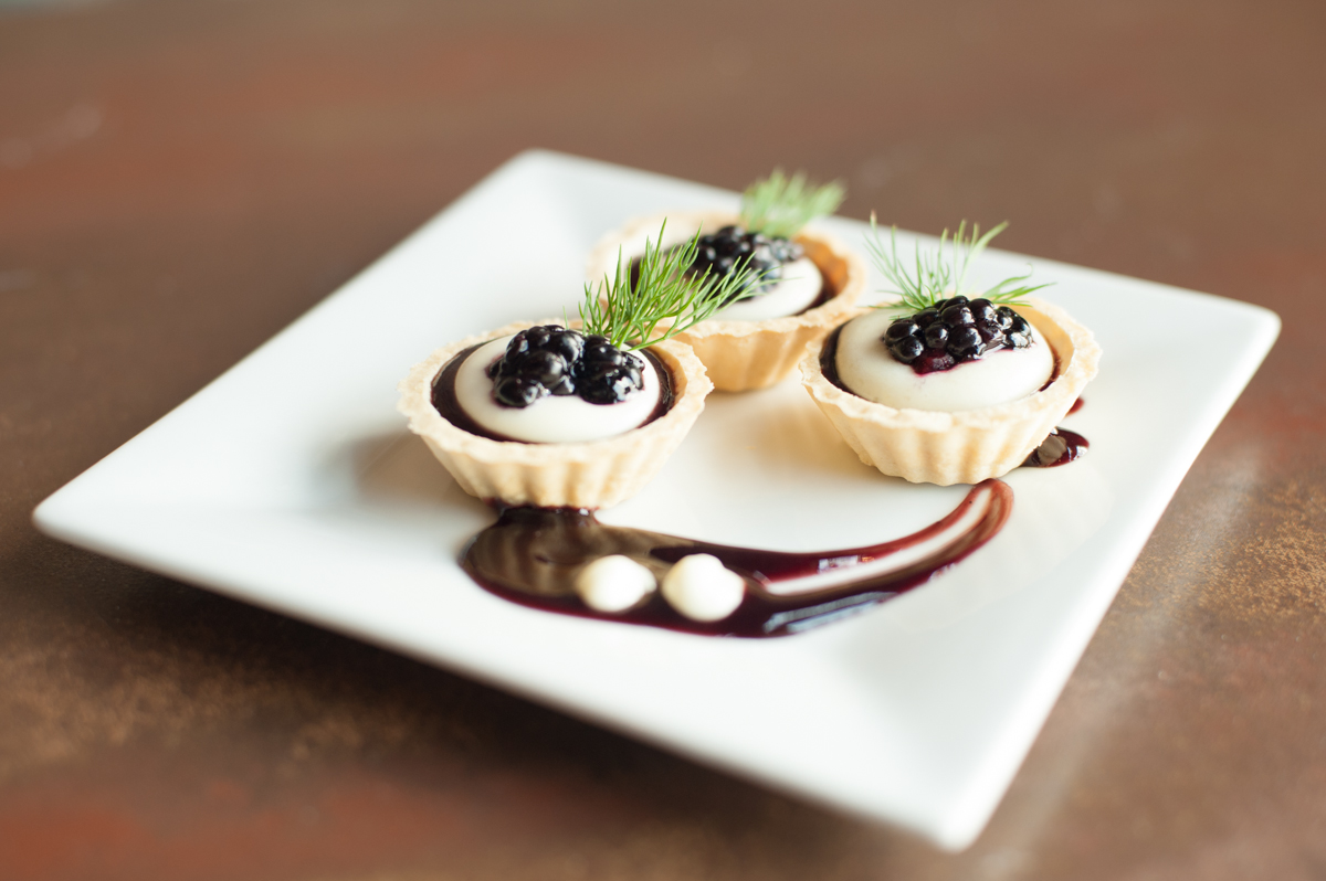 Blackberry Brie Tart-let