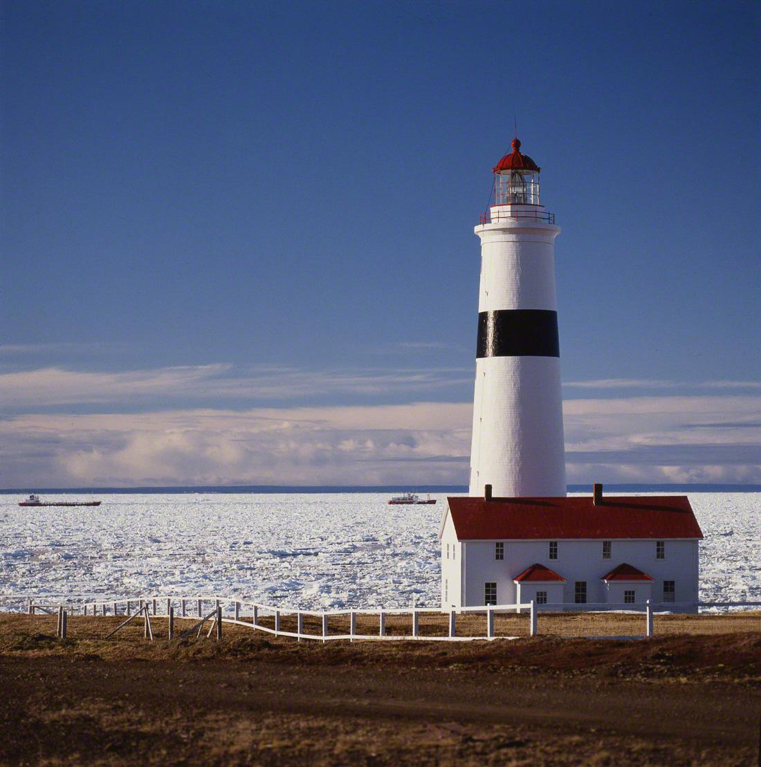 Point-Amour, Détroit de Belle-Isle
