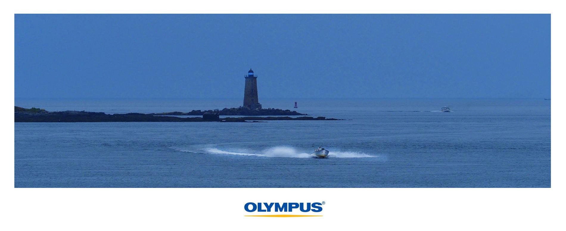 Whaleback ledge lighthouse, Maine