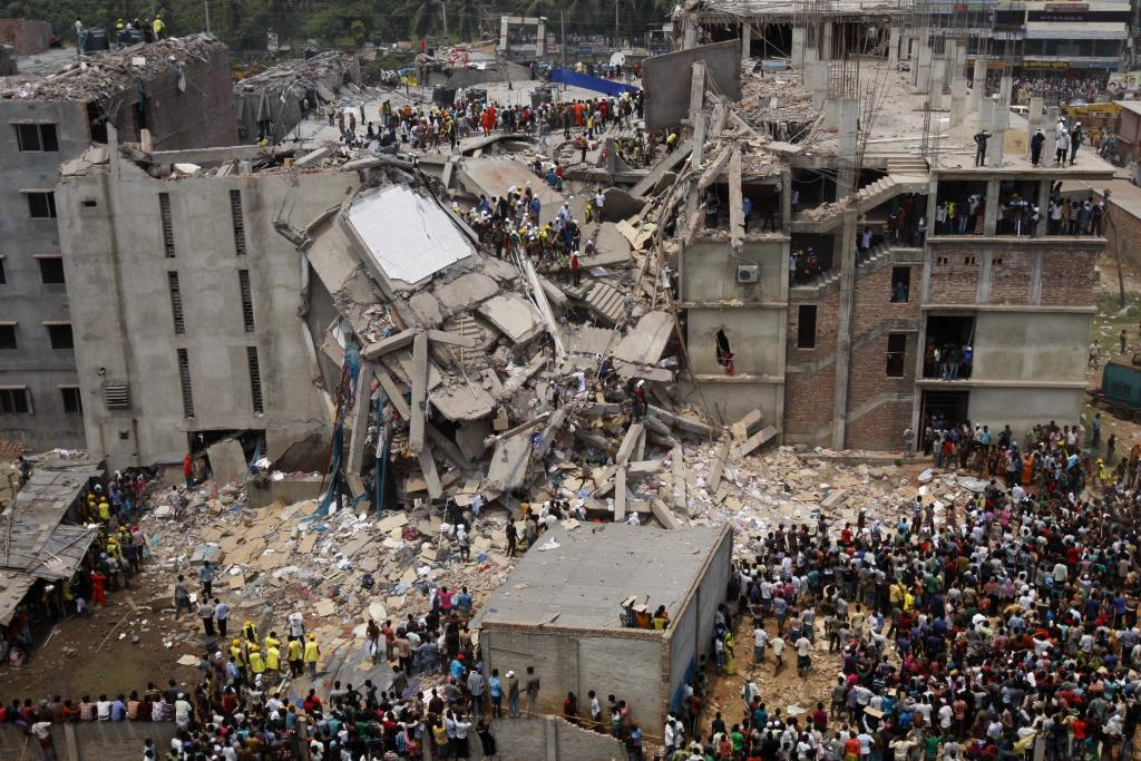 Rana Plaza Collapse, Dhaka, Bangladesh (Source:  Rijans )