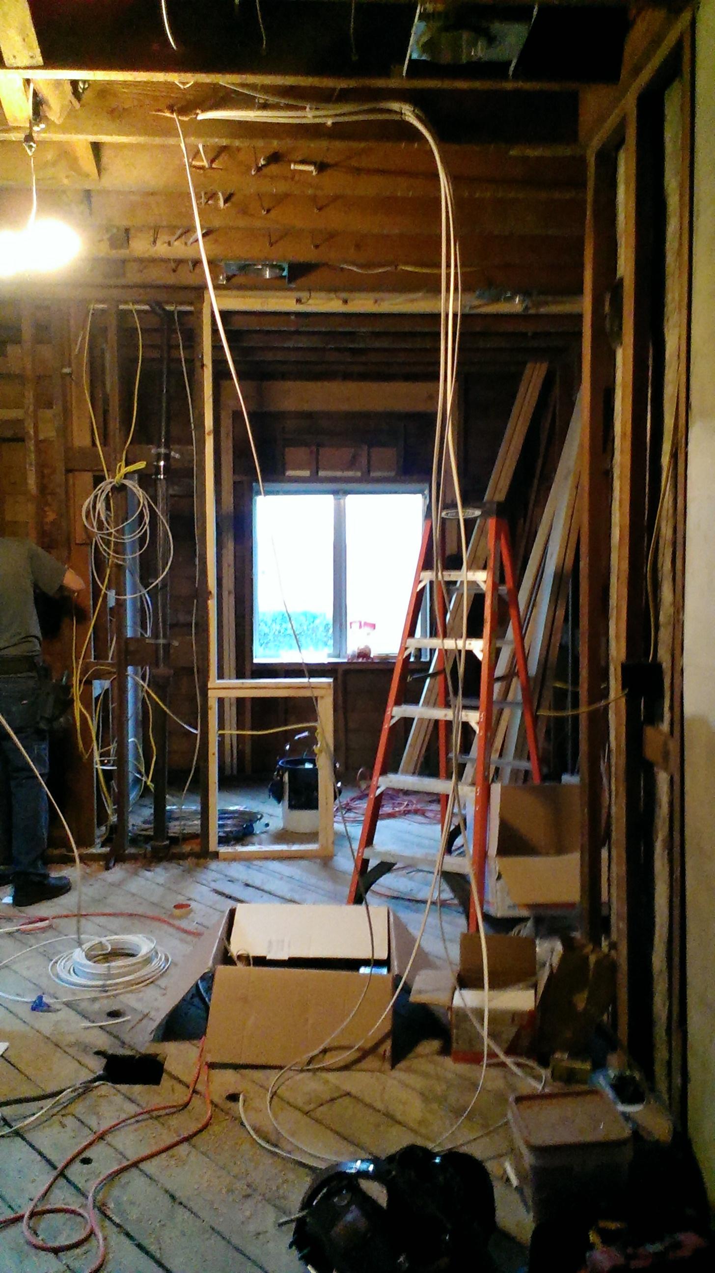 Construction: Brooklyn Remodel