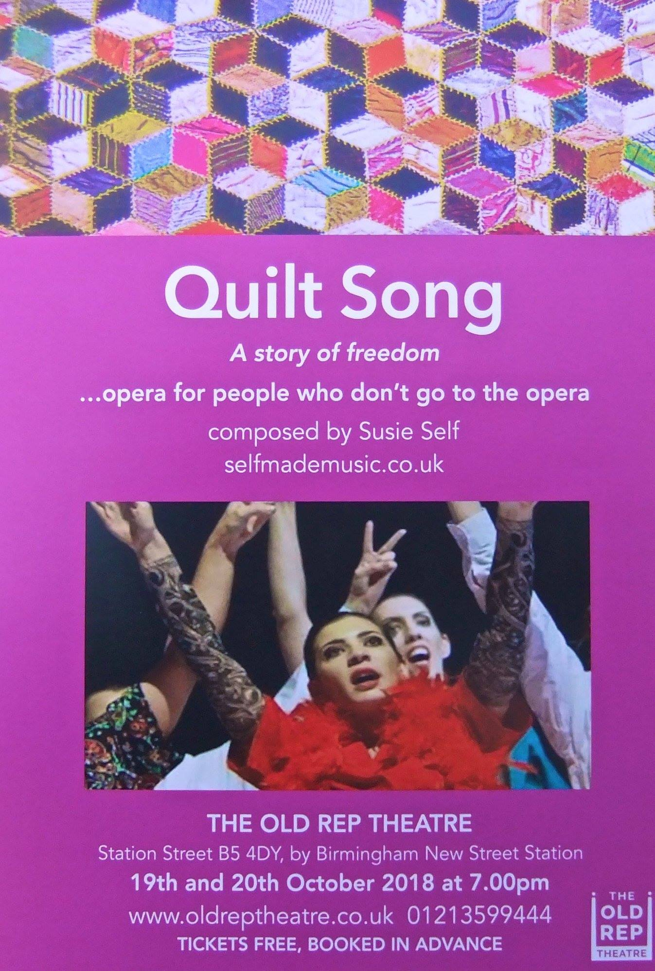 Quilt Song - Oct 2018