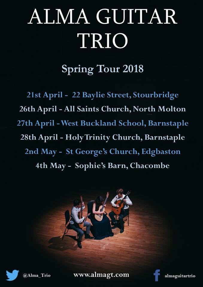 Alma Spring Tour 2018