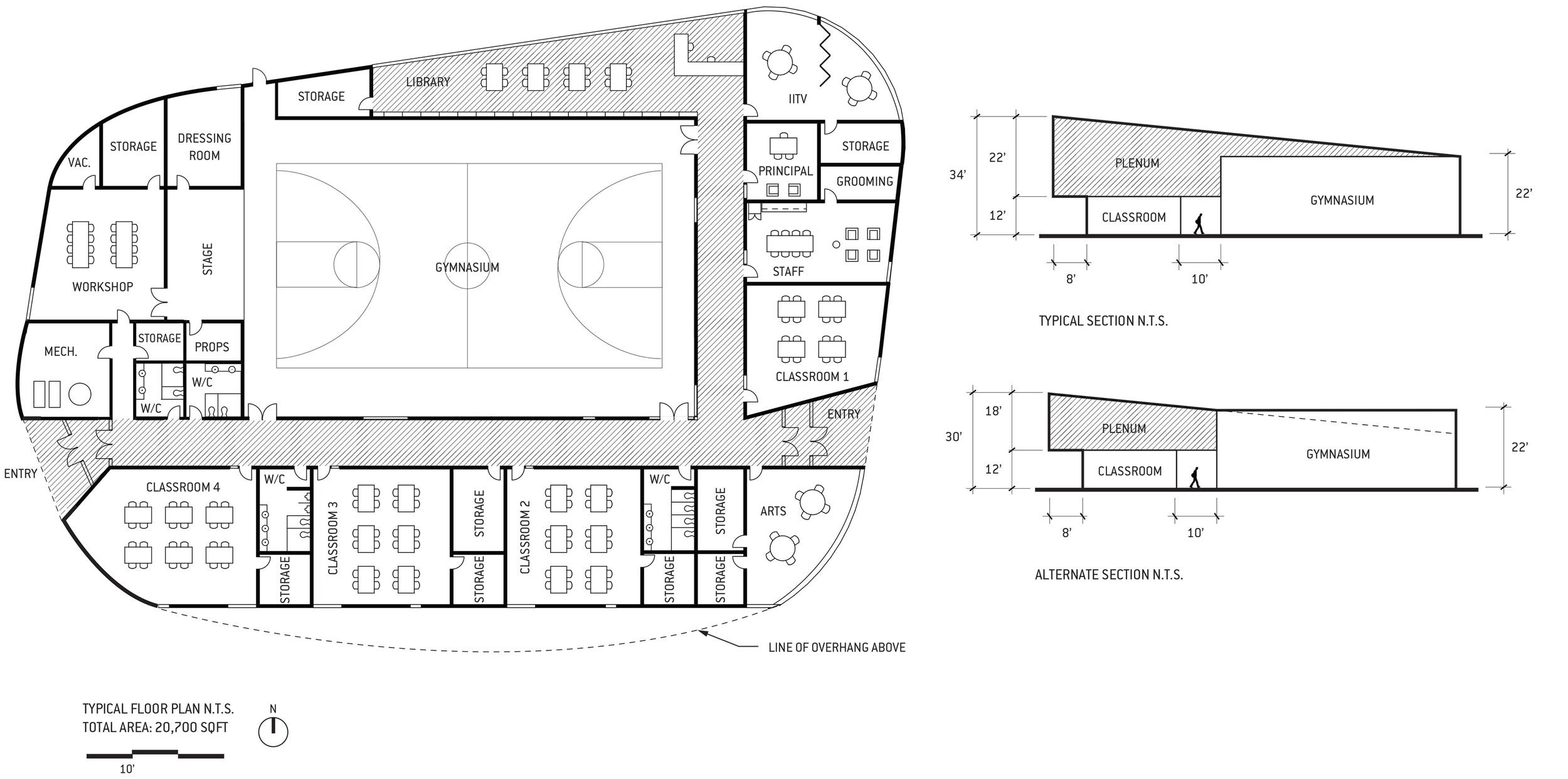 Peace Valley School_Floor Plan+Section.jpg