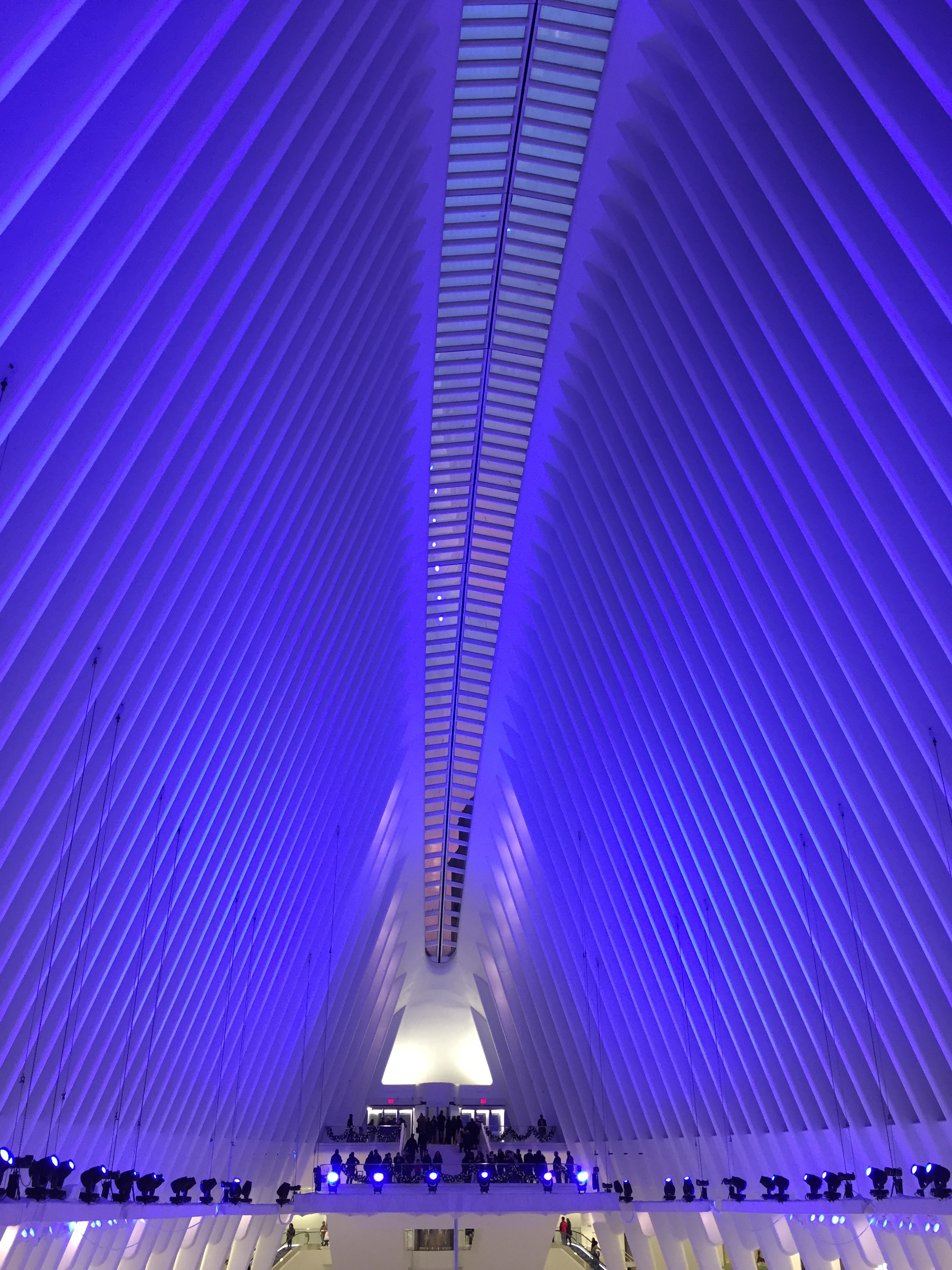 CALATRAVA. JUST BECAUSE YOU CAN, DOESN'T MEAN YOU SHOULD. RE: LED'S.