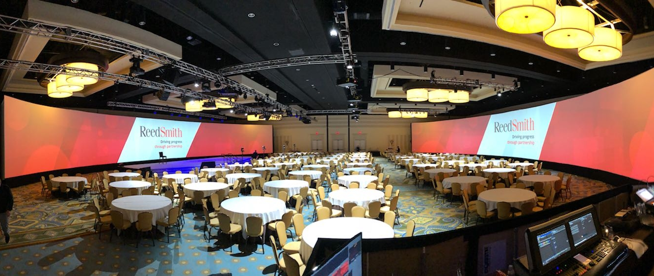 Copy of Event space with two screens