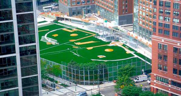 Battery Park Fields
