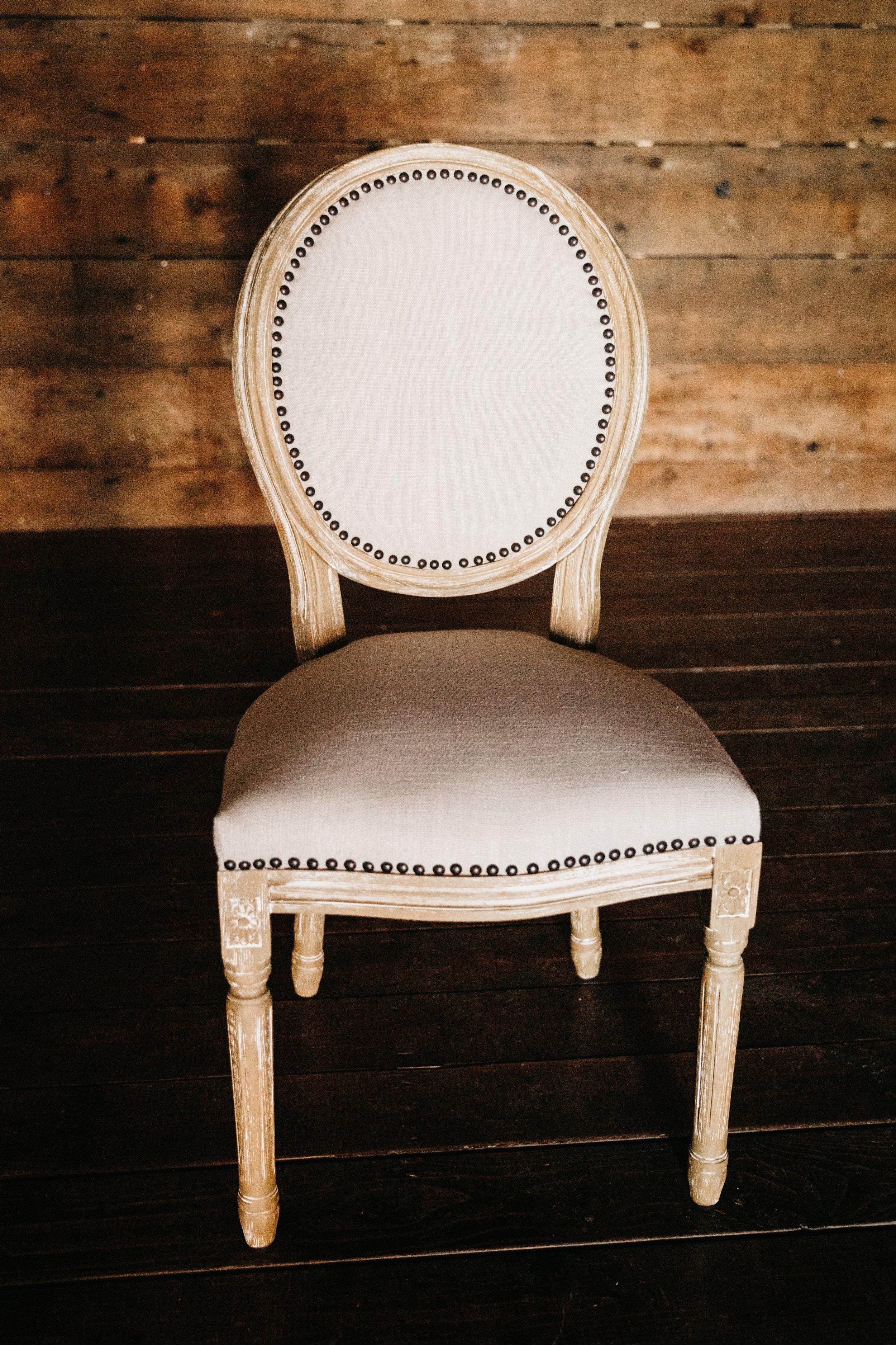 Madeleine chair $30ea {qty 2}