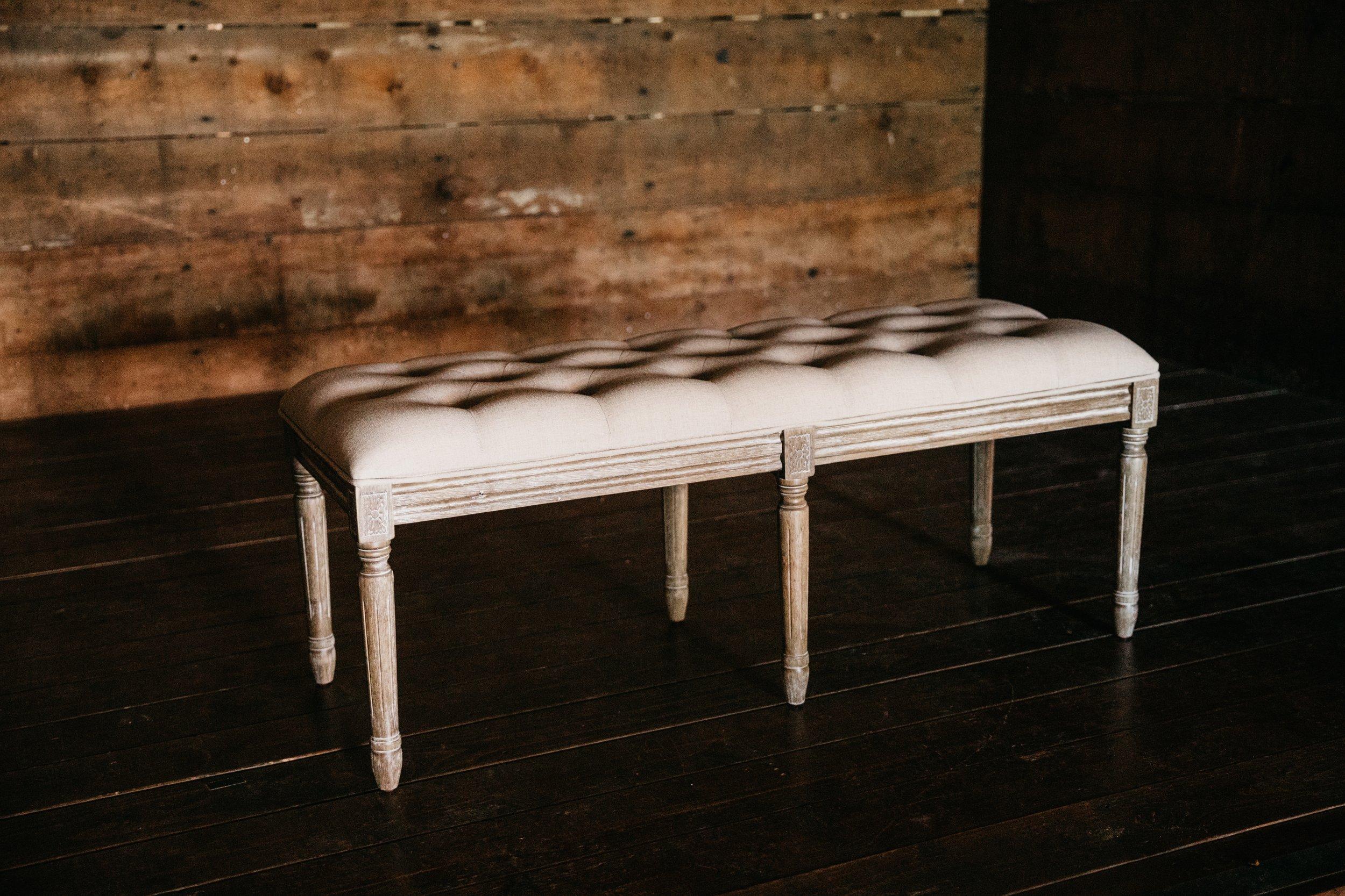 clara bench $130 {qty 1}