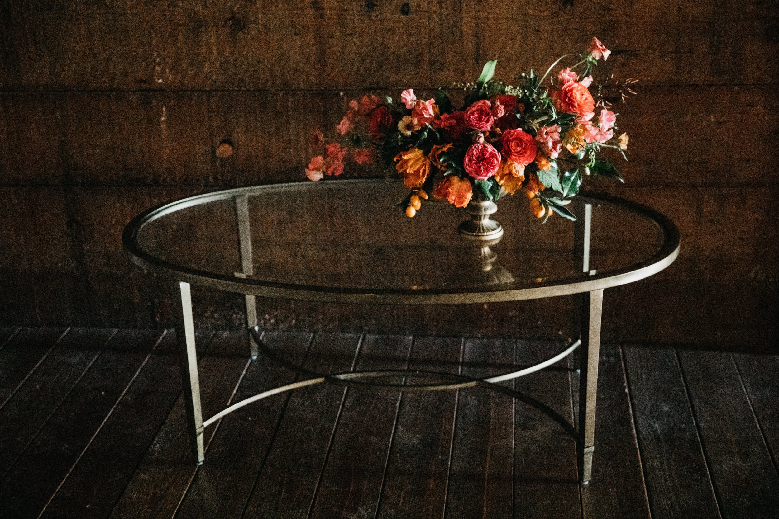 amelie glass coffee table $120 {qty 1}