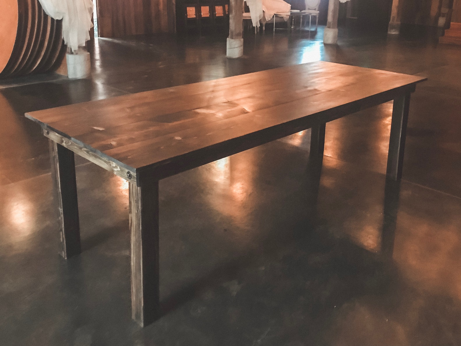 Classic Farm table $100 each (qty 3)