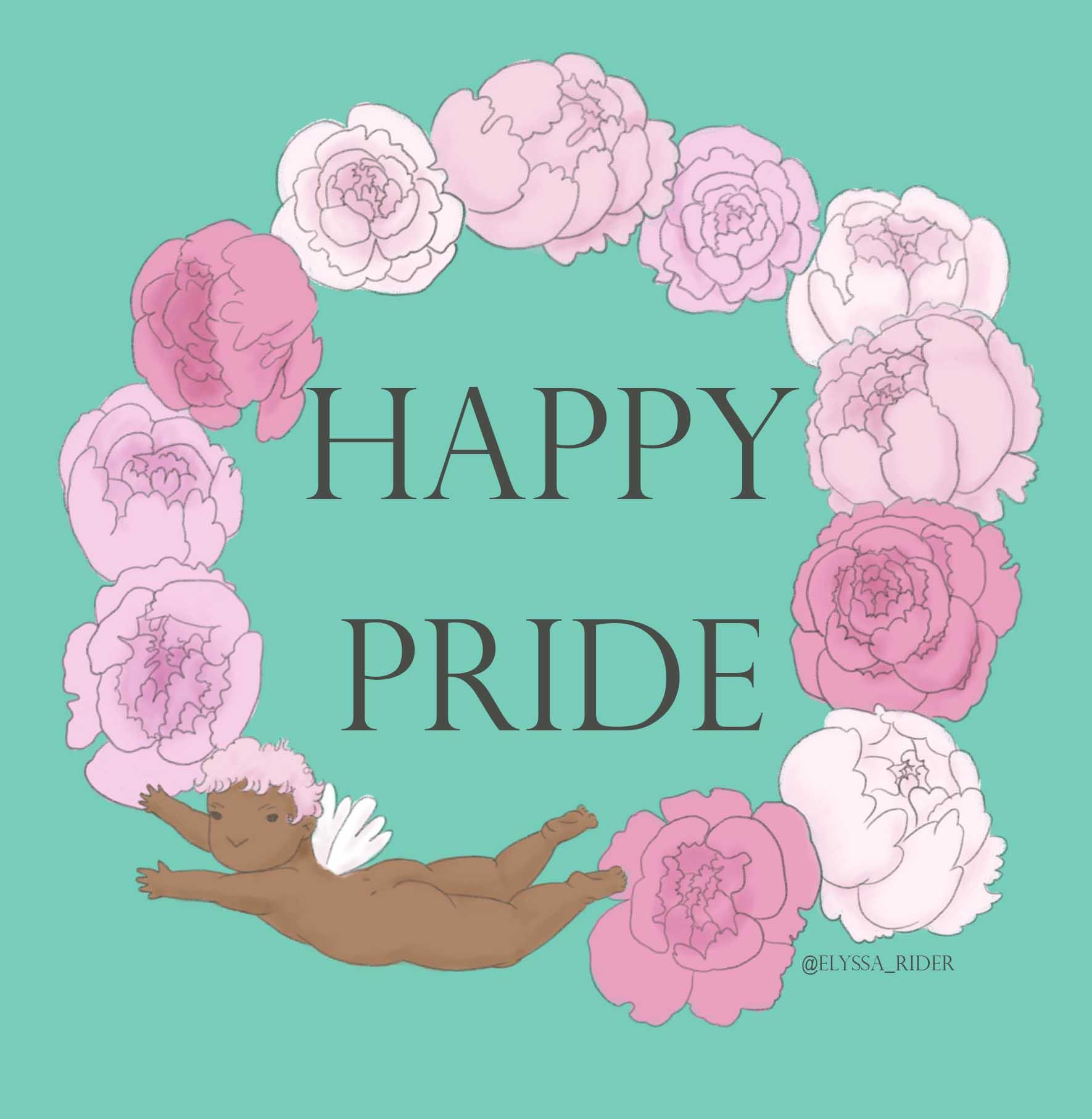 Happy Pride Cherub - Elyssa Rider