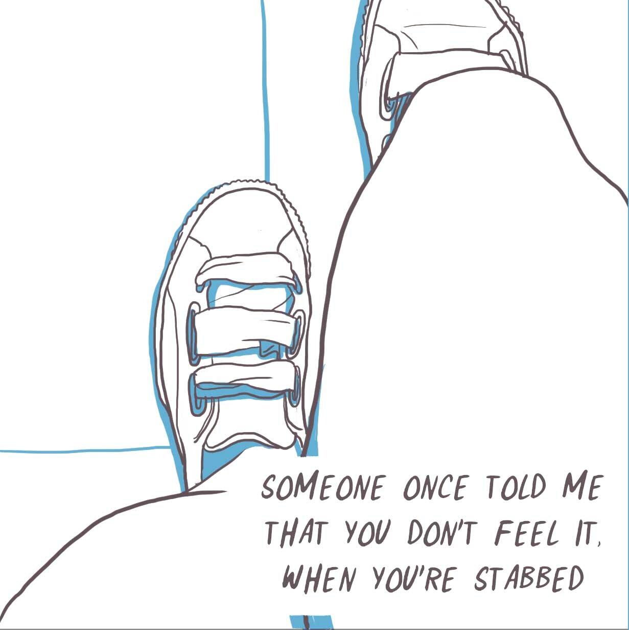Stabbing - Panel 1