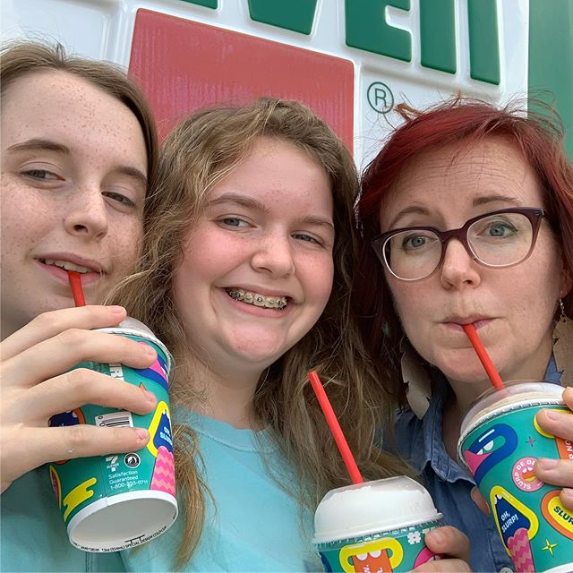 lost count of how many of these we had this week...but today's were free  #freeslurpeeday 🥤
