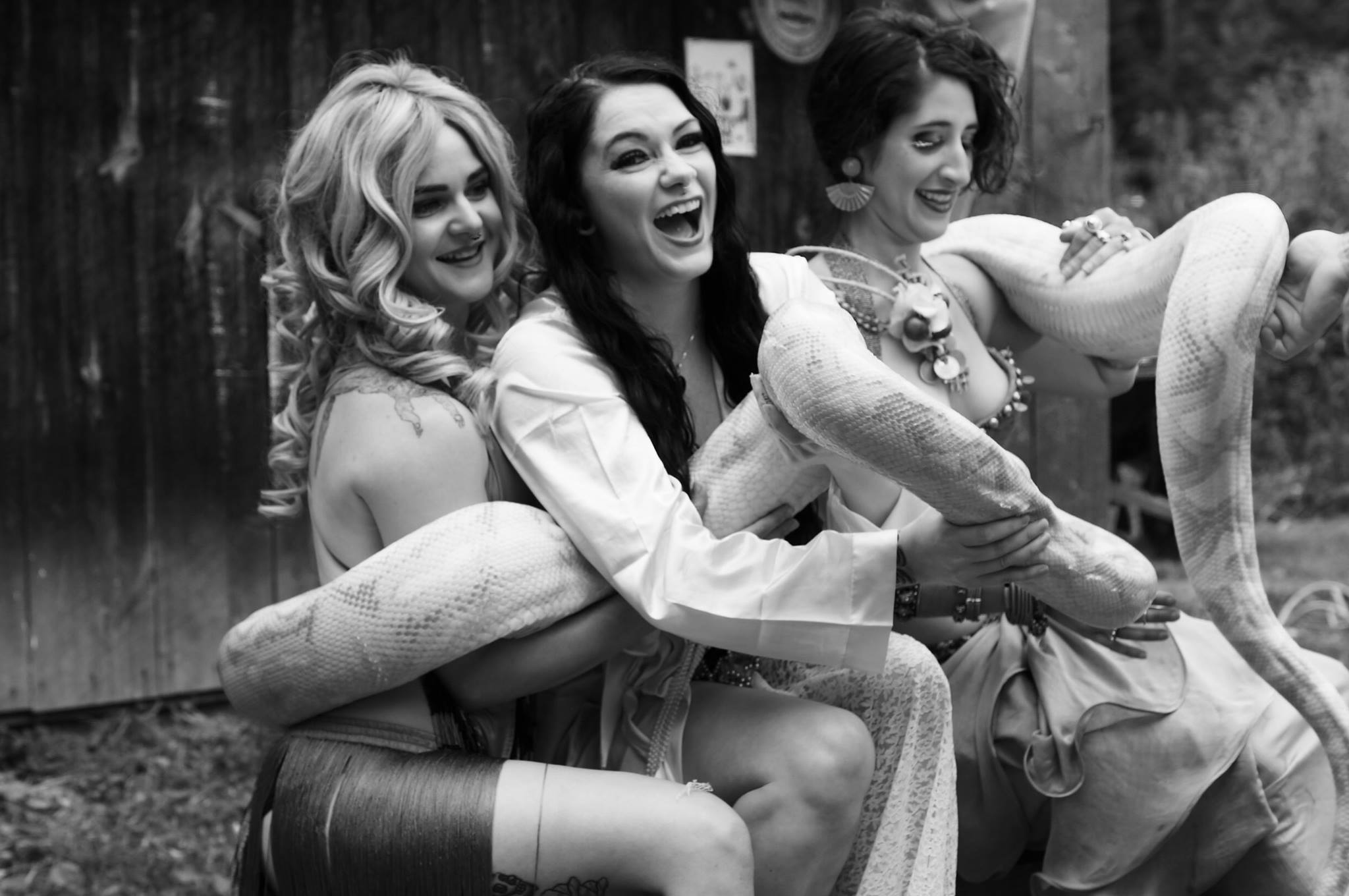 From Left: Amanda Clark, Elaina Carrell, and Pia Louise Capaldi