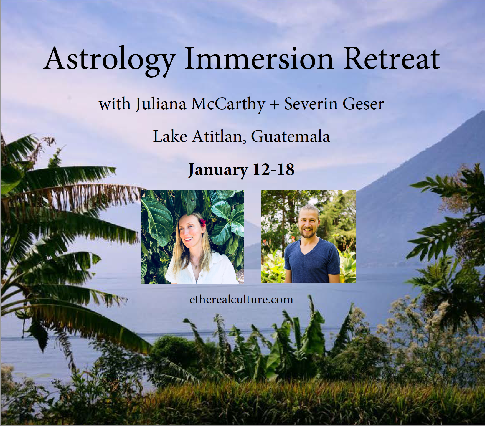Join us for this  Astrology Immersion Retreat  in January!