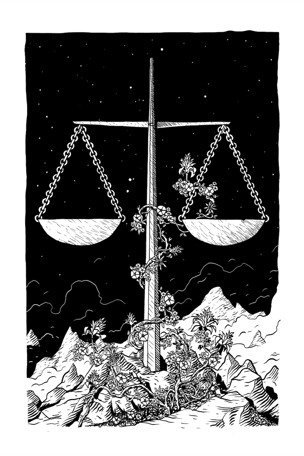Libra, by Alejandro Cardenas, for sale in our shop