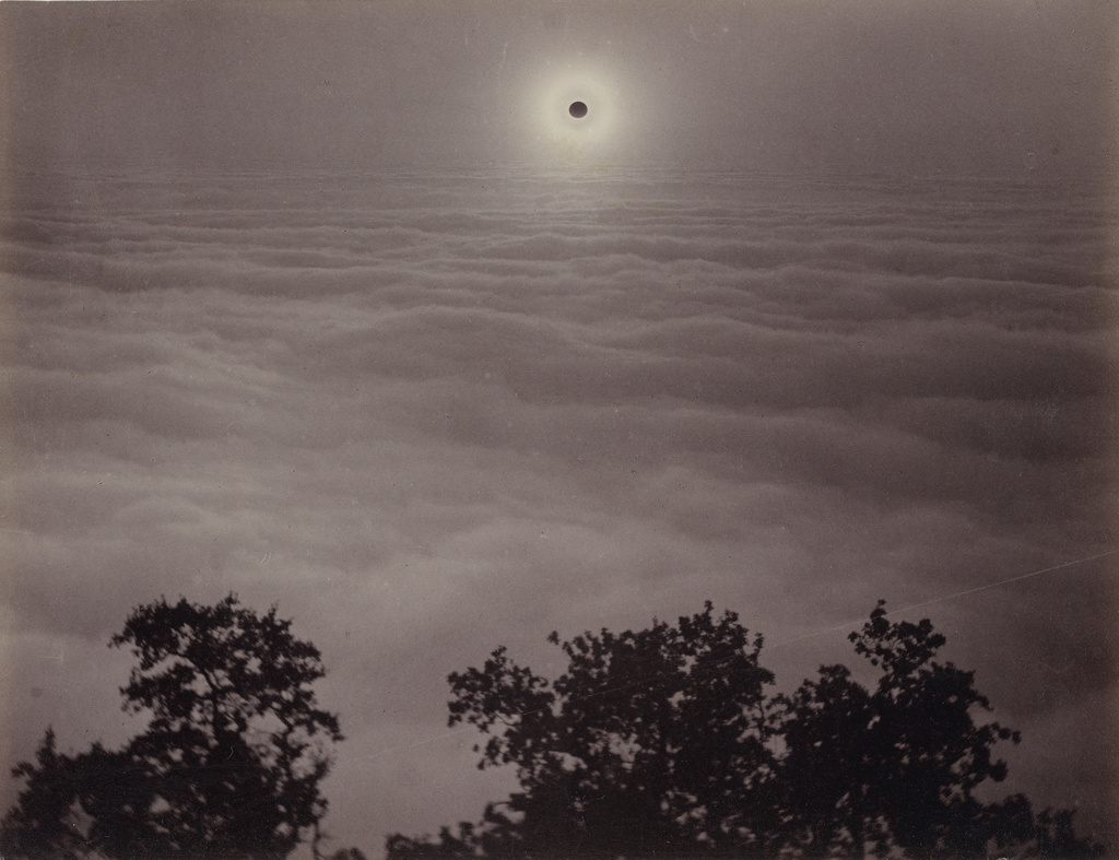 Carleton Watkins,  Solar Eclipse