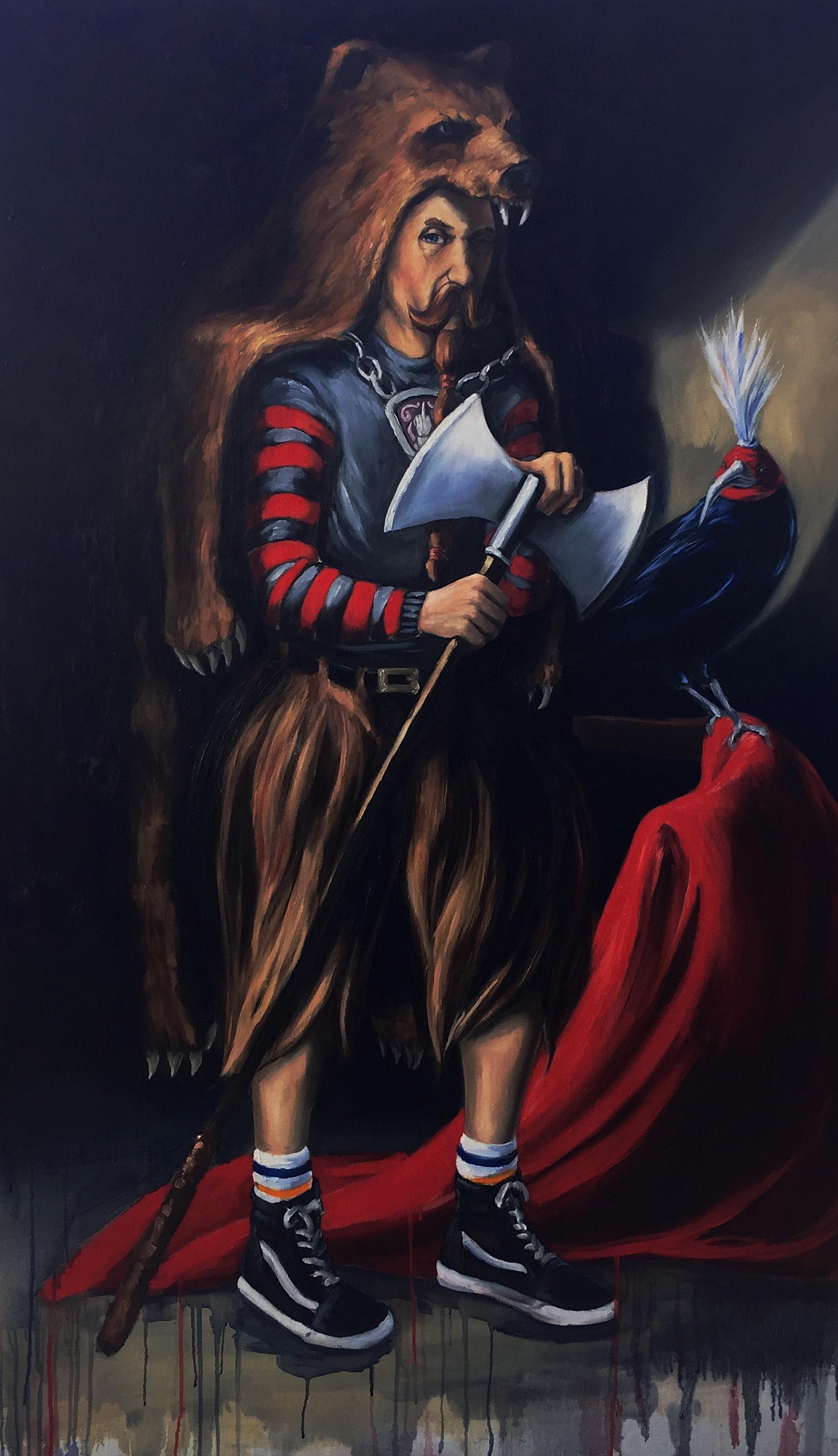 Portrait of Berzerker