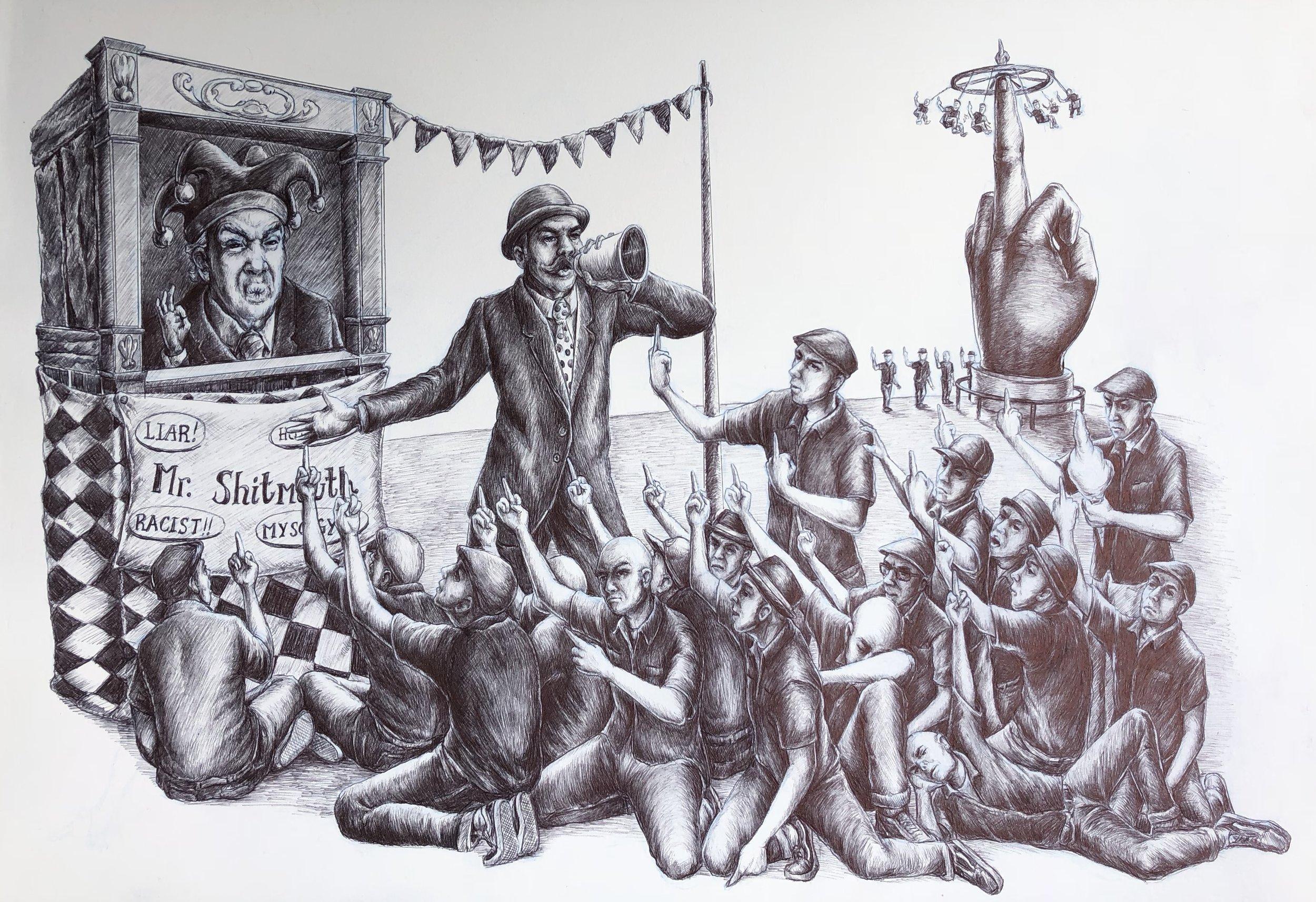 The Ostentatious Ballad of Mr. Shitmouth