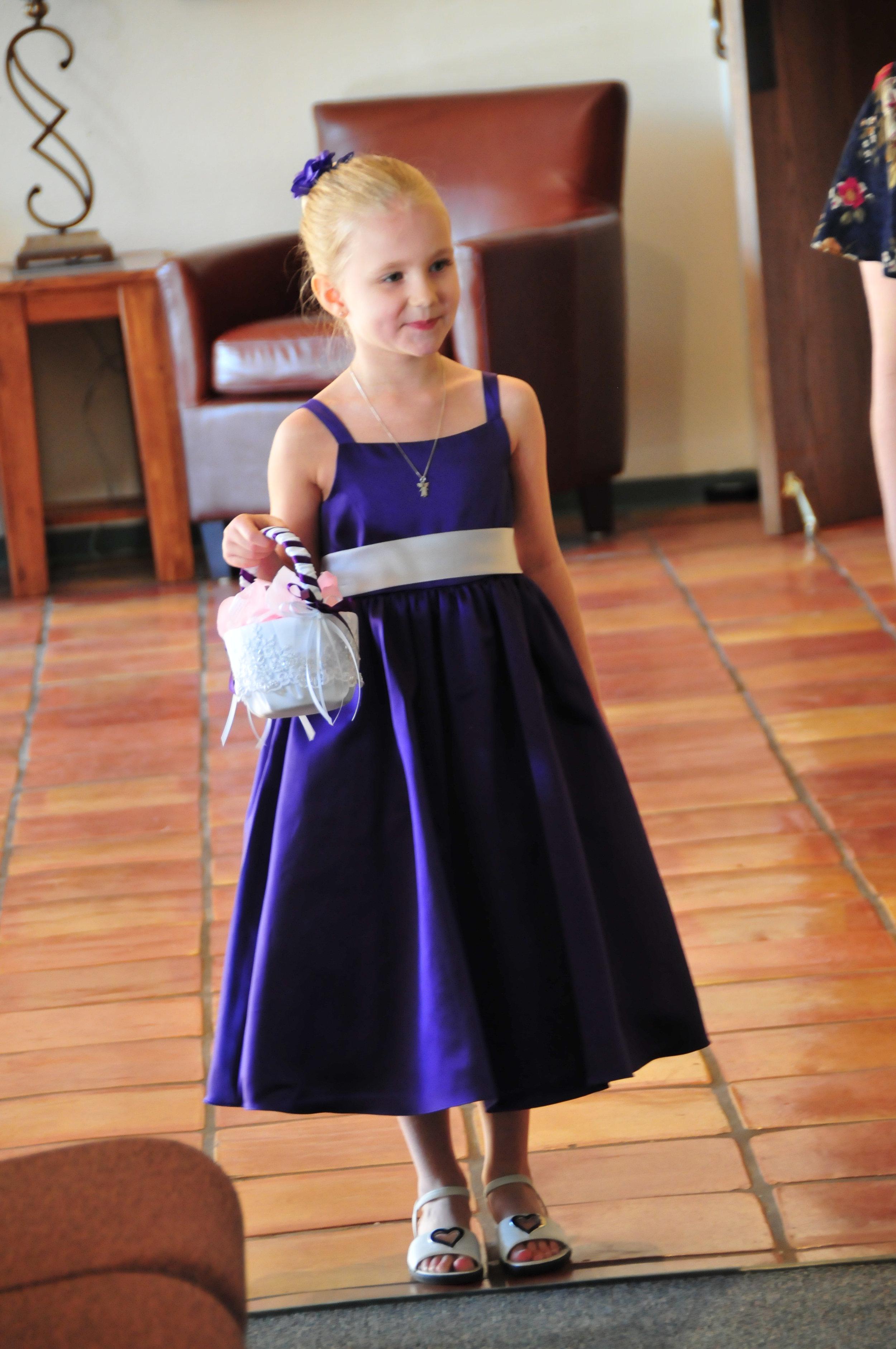 2010 - My little flower girl...