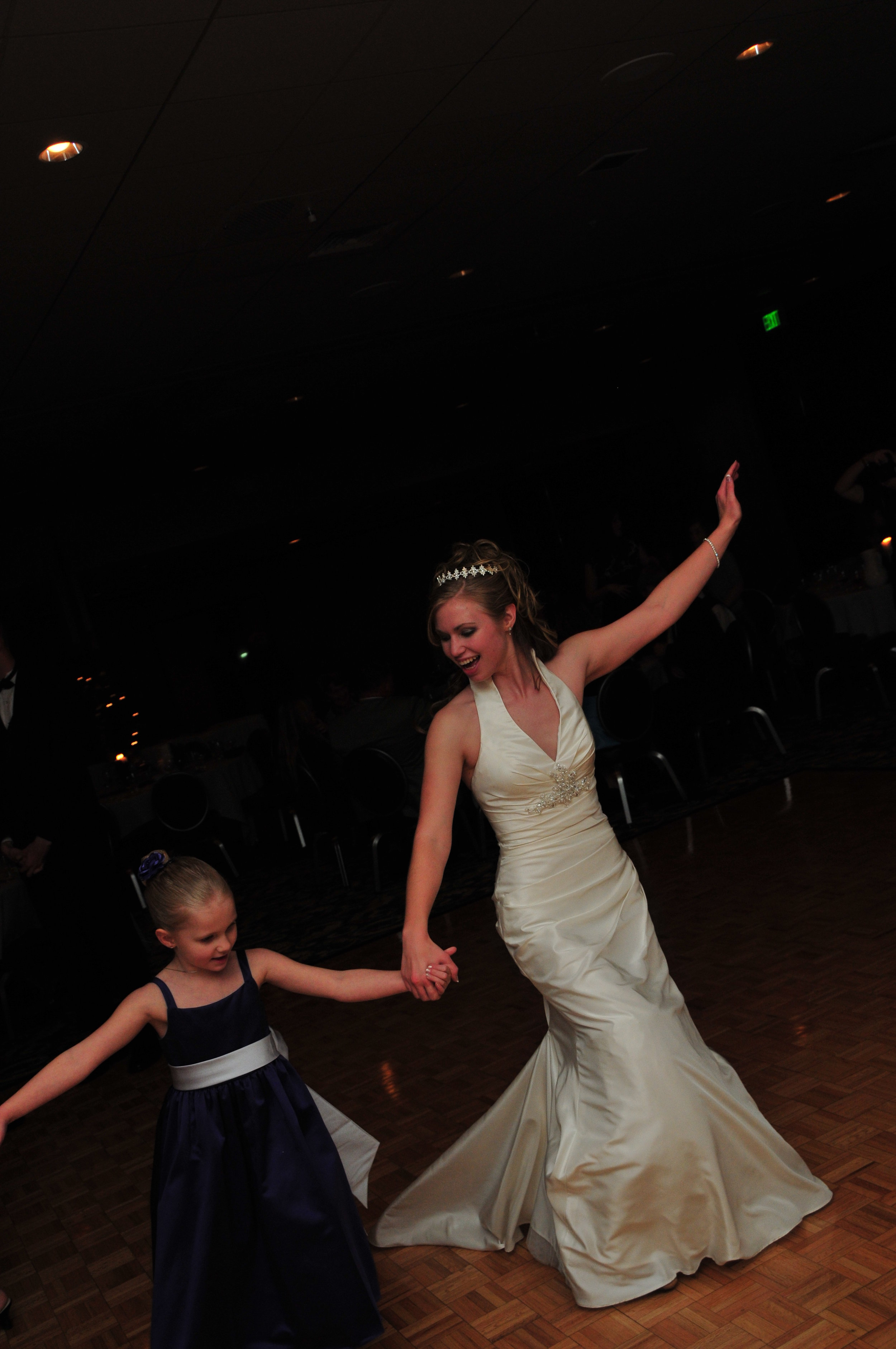 2010 - Dancing at my wedding...