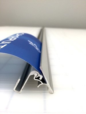 Top Clamp Profile (Clamp is pictured upside-down)