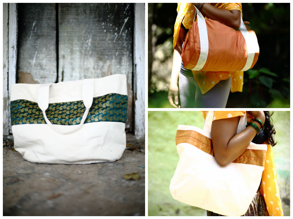 Handmade Bags from Vintage Indian Textiles | Made With a Purpose