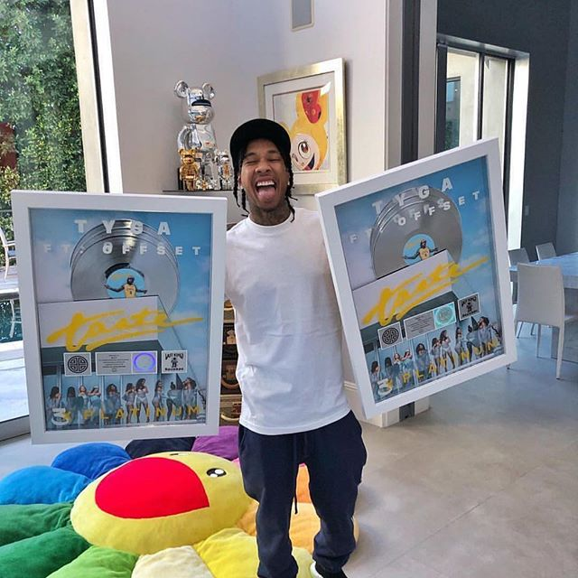 Come back kid ! Tyga single 'Taste' featuring Offset is triple platinum 💪🏾 • • #tyga #offset #taste #platinum #music #entertainmentblog #blogger #musicplay #thepotnyc