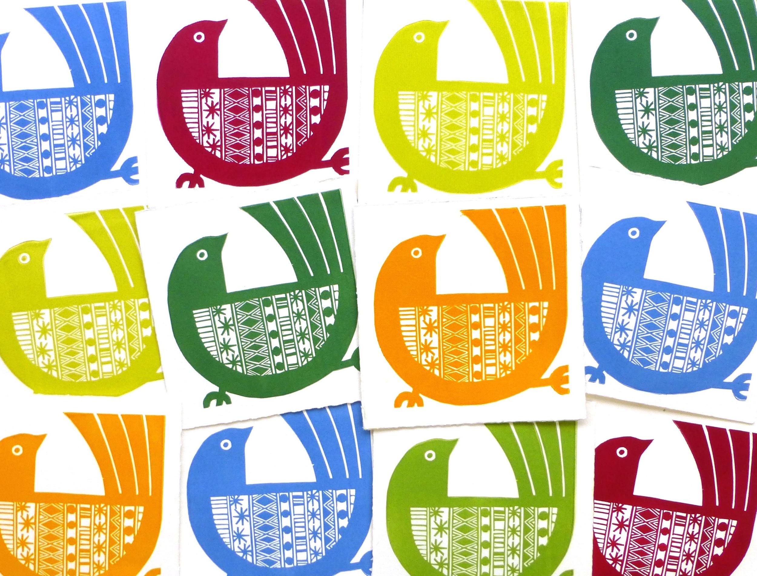 Running Bird (various colours)