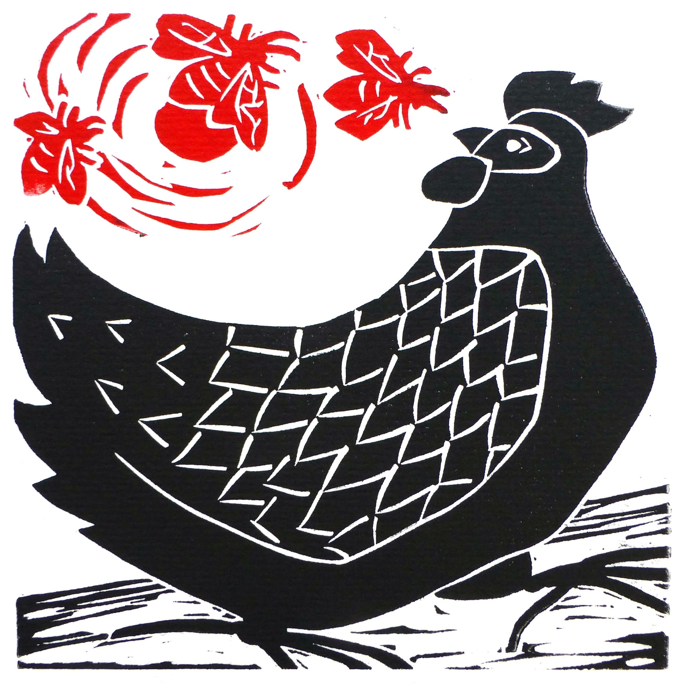 Chook and Bees