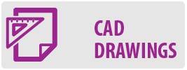 CAD Drawings | MF222 Small Flat TV Wall Mount