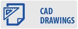 CAD Drawings | MA4402-E Medium Full Motion TV Wall Mount