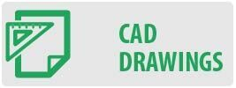 CAD Drawings   MT642 Large Tilt TV Wall Mount