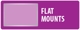 Monster Mounts Flat or Fixed Mount for Flatscreen TV