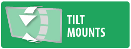 Monster Mounts Tilt Mount for Flatscreen TV