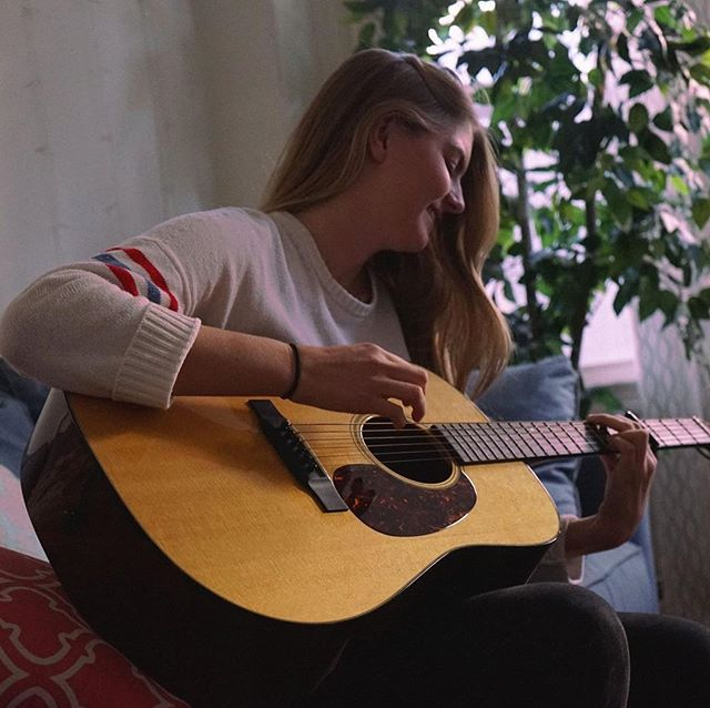"B-SIDE Tent Show Artist Feature: Drew Wendel!!! Meet class of 2019 singer/songwriter Drew Wendel!! B-SIDE spent an afternoon with Drew and got the chance to listen to some of her incredible originals, which you all will get the honor of hearing if you come through Simmons to see her perform on Thursday night!!! A prolific songwriter and lyricist, we asked Drew about her introduction to songwriting as well as her process: ""I actually didn't start writing until high school, although I've been playing guitar and singing since I was in 5th grade. I think my writing process often starts with a feeling, and the songs become a story about that feeling."" In terms of songwriting inspiration, ""I've been obsessed with Maggie Rogers for a while. Matt Corby is also definitely a big influence."" Come join us and hear Drew's originals this Thursday night on Simmons Quad!! TENT SHOW COUNTDOWN: 2 DAYS"