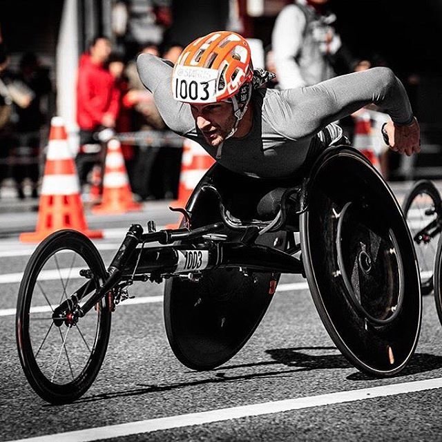 Tune in tomorrow to @paraathletics as I take over their Instagram feed for a behind the scenes look at the #chicagomarathon
