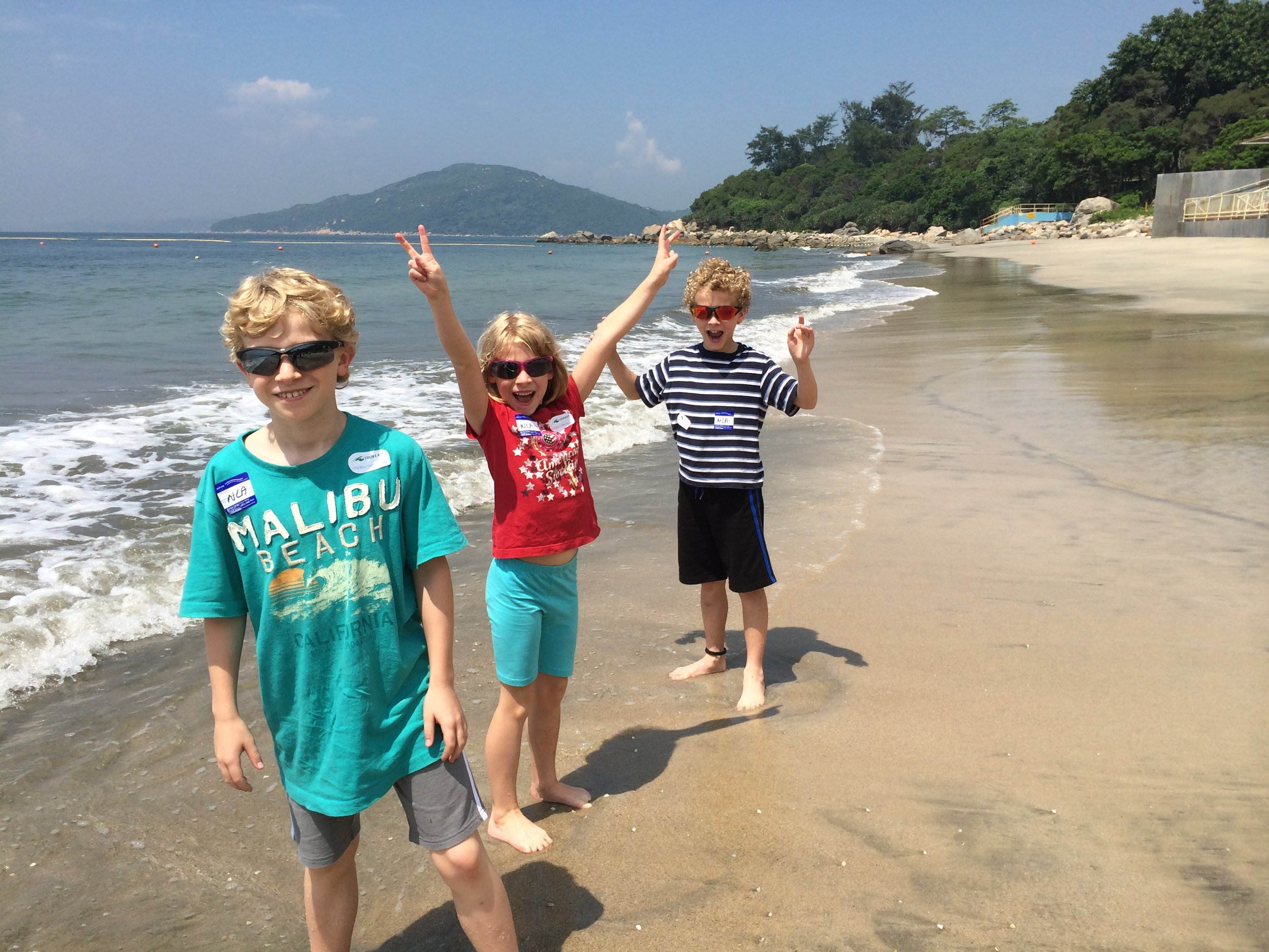 Lantau Island Beach, Hong Kong