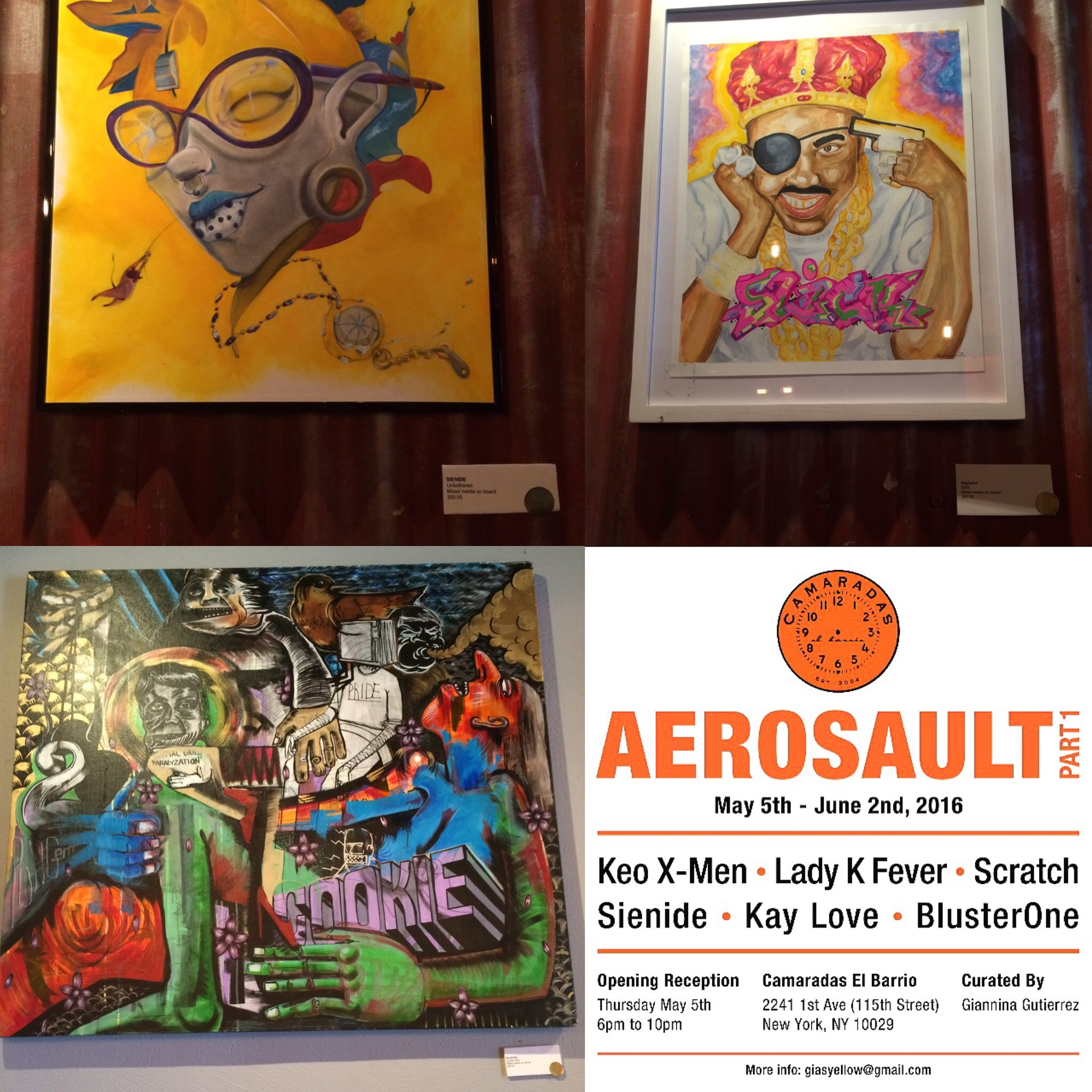 Aerosault  , Part I,  Camaradas El Barrio May 2016