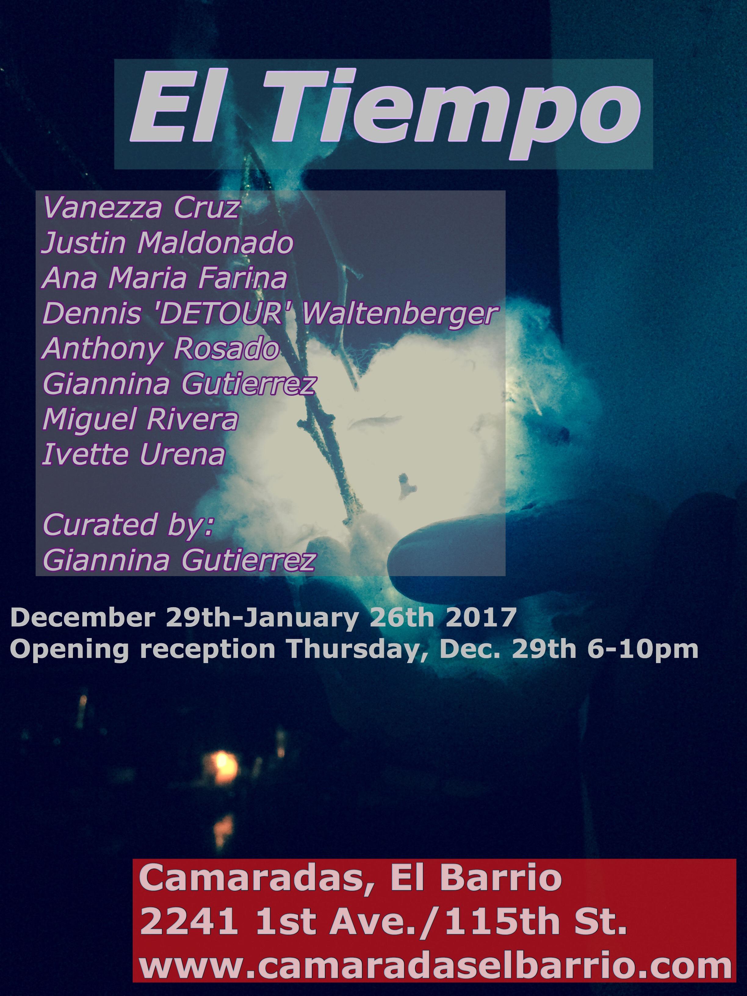 El Tiempo, Camaradas El Barrio December 2016