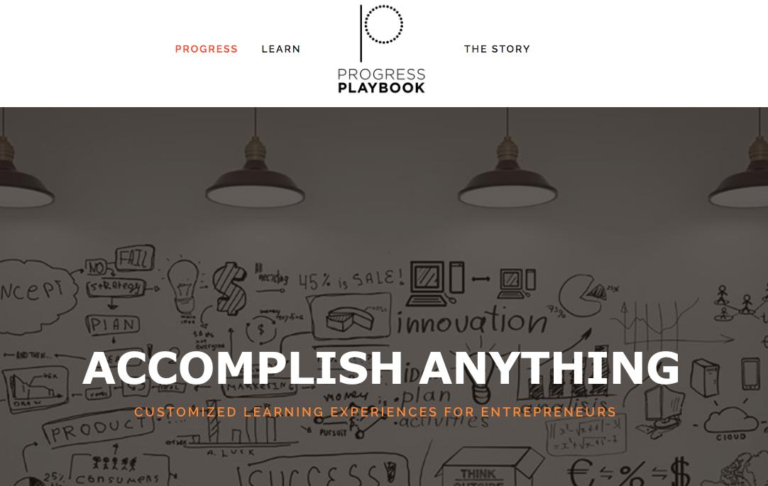 (Progress Playbook website and logo)