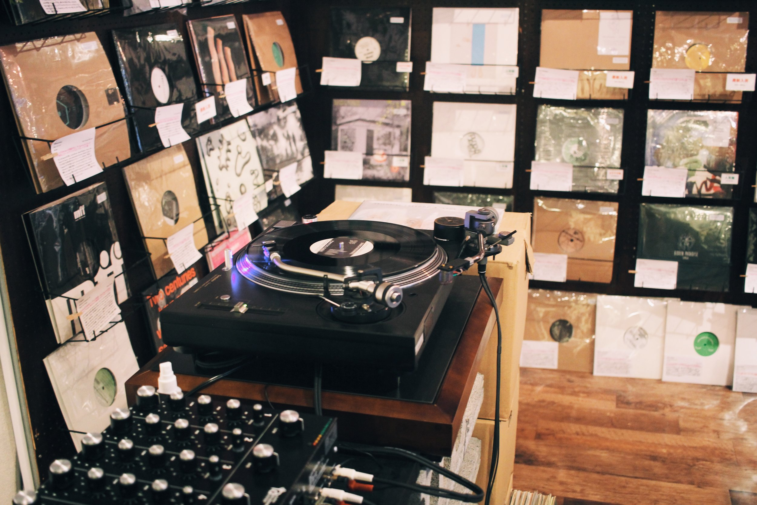 Digging in Japan: ten of Tokyo's best record stores — A STRANGELY