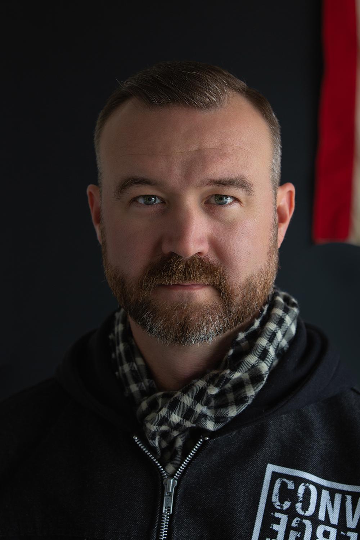 John Robson Self Portrait