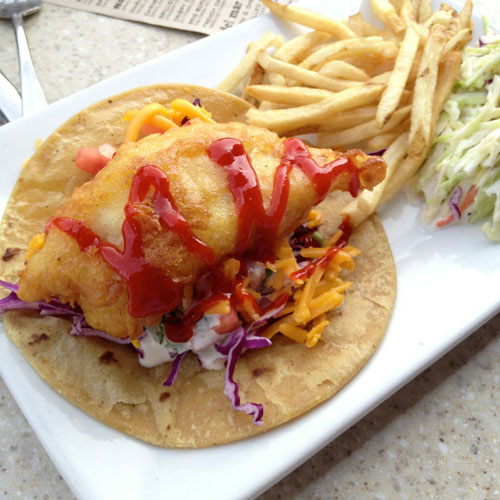 Best fish taco? It's at The Brigantine in Del Mar.