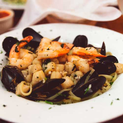 Boun Appetito is a rustic Italian restaurant in San Diego Little Italy