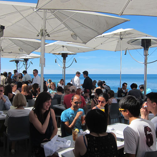 George's at the Cove - Ocean Terrace, has one of the best views in town