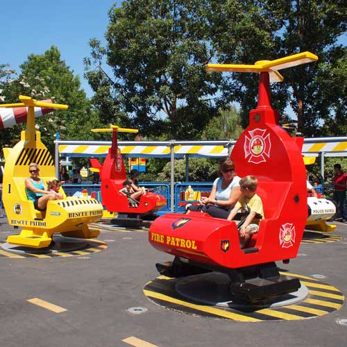 Scaled down rides just for kids